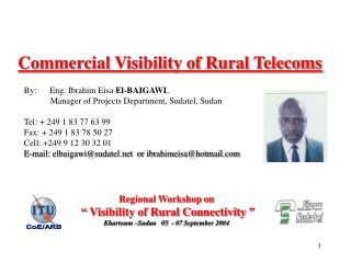 Commercial Visibility of Rural Telecoms