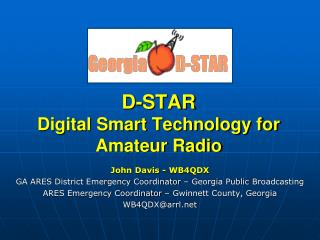 D-STAR Digital Smart Technology for Amateur Radio