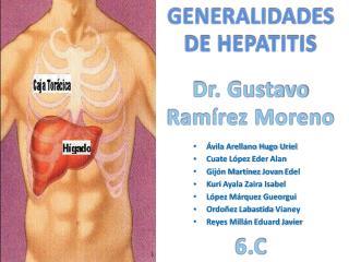 GENERALIDADES DE HEPATITIS