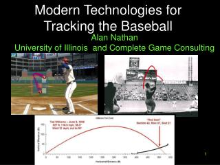 Modern Technologies for Tracking the Baseball