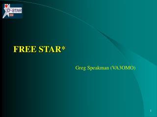 FREE STAR*