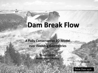 Dam Break Flow
