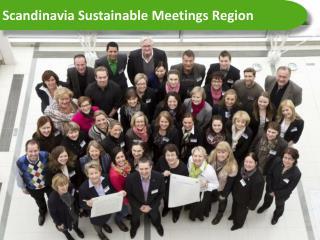 Scandinavia  Sustainable Meetings Region