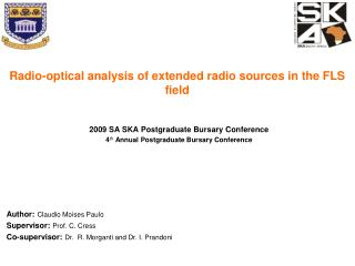 Radio-optical analysis of extended radio sources in the FLS field