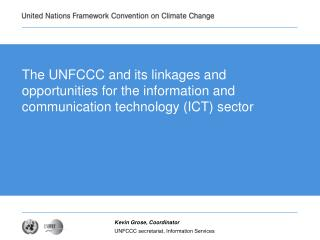 Linkages and opportunities for the information and communication technology (ICT) sector