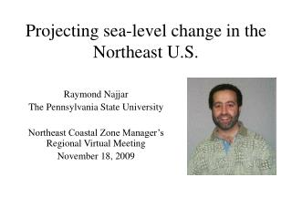 Projecting sea-level change in the Northeast U.S.