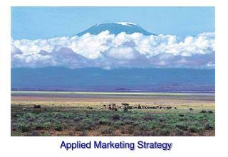 Applied Marketing Strategy