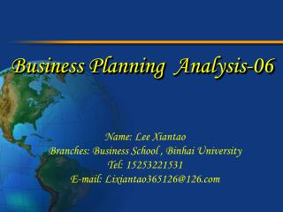 Business Planning  Analysis-06