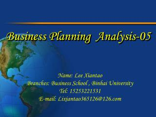 Business Planning  Analysis-05