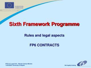 Sixth Framework Programme