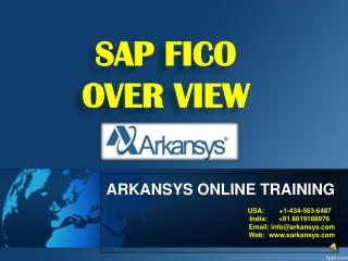 SAP FICO ONLINE TRAINING | FICO Project Support | FICO Certi