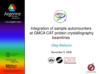 Integration of sample automounters  at GMCA CAT protein crystallography beamlines
