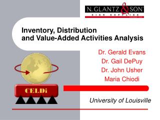 Inventory, Distribution  and Value-Added Activities Analysis