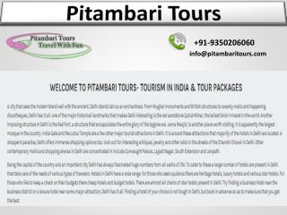 Tour operators in india Delhi