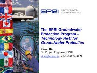 The EPRI Groundwater Protection Program   Technology RD for Groundwater Protection