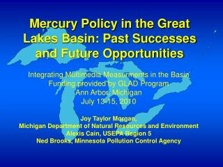 Mercury Policy in the Great Lakes Basin: Past Successes and Future Opportunities