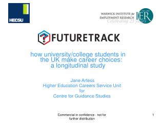 how university/college students in the UK make career choices: a longitudinal study