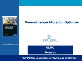 General Ledger Migration Optimizer