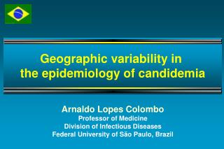 Arnaldo Lopes Colombo Professor of Medicine  Division of Infectious Diseases