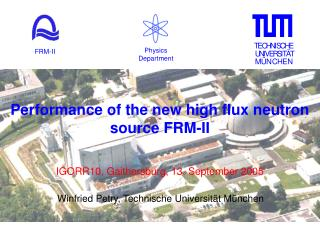 Performance of the new high flux neutron source FRM-II