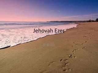 Jehovah Ezer