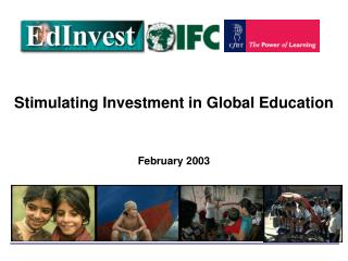 Stimulating Investment in Global Education