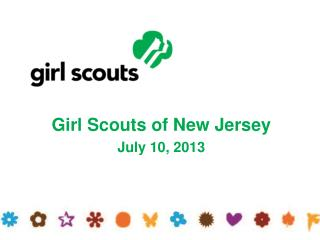 Girl Scouts of New Jersey July 10, 2013