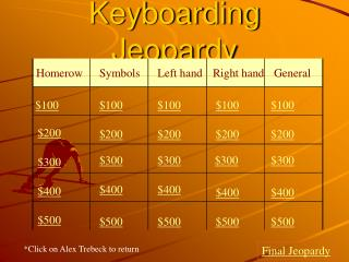 Keyboarding Jeopardy