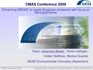 CMAS Conference 2009 Enhancing SMOKE to create European emissions with focus on Benzo[a]Pyrene