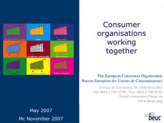 Consumer organisations working together