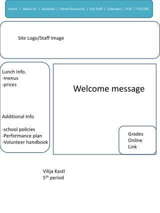 Site Logo/Staff Image