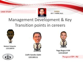 Management Development & Key Transition points in cereers