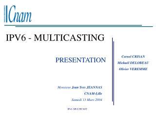 IPV6 - MULTICASTING
