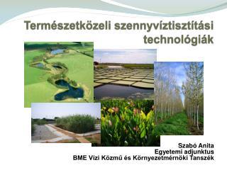 Természetközeli  szennyvíztisztítási technológiák