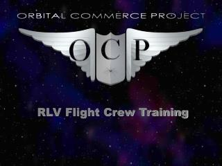 RLV Flight Crew Training