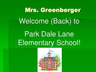 Mrs. Greenberger