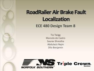 RoadRailer Air Brake Fault Localization