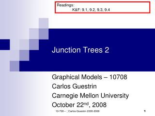 Junction Trees 2