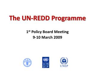 The UN-REDD Programme