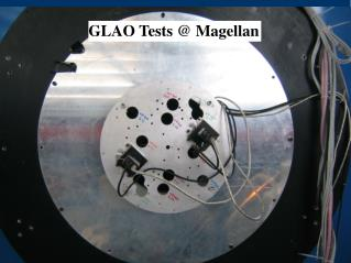 GLAO Tests @ Magellan