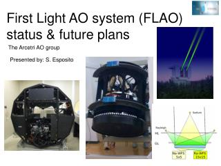 First Light AO system (FLAO) status & future plans
