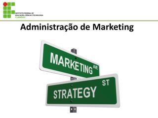 Administra��o de Marketing