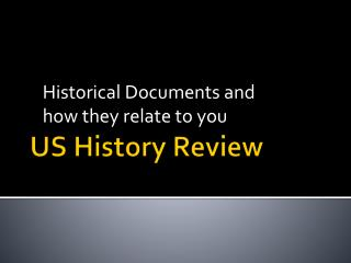 US History Review