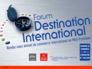 5 ème  rendez-vous régional commerce international Le tour du monde en 27 pays
