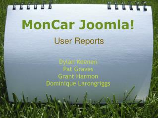 MonCar Joomla!