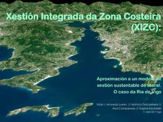 Xestión Integrada da Zona Costeira (XIZC):
