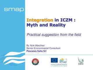 Integration  in ICZM :  Myth and Reality
