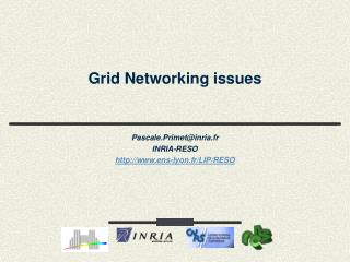 Grid Networking issues