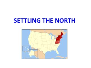 Settling the North