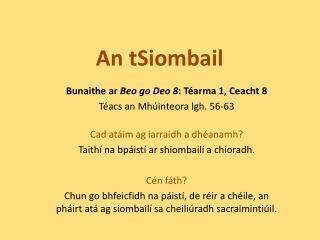 An  tSiombail